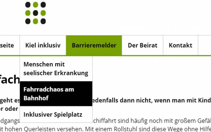 Webseiten Accessibility